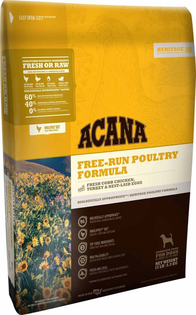 Acana Acana Heritage Free-Run Poultry