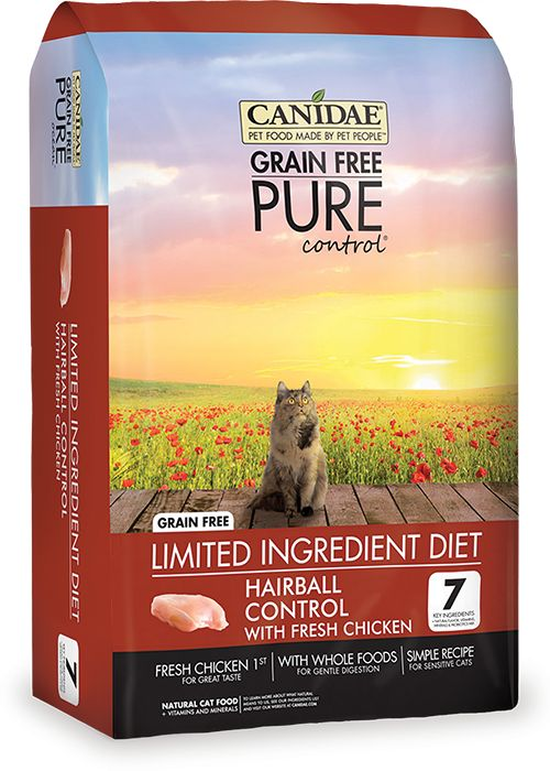 Canidae Canidae® Grain Free Pure Control® Hairball Control with Fresh Chicken Dry Cat Food Formula