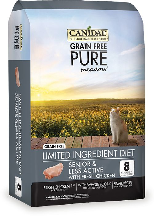 Canidae Canidae® Grain Free Pure Meadow® Senior Cat Formula with Fresh Chicken Dry Cat Food Formula
