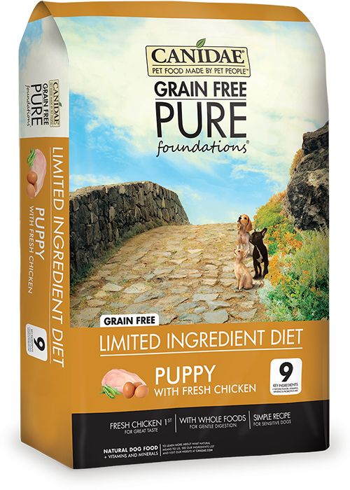 Canidae Canidae® Grain Free Pure Foundations® for Puppies with Fresh Chicken Dry Formula