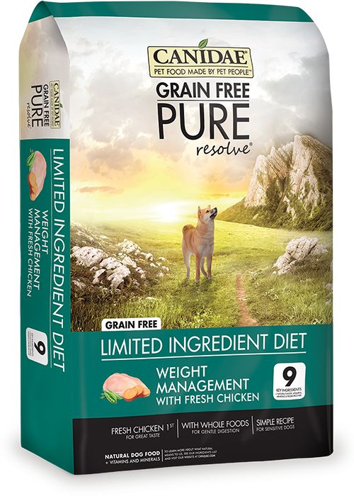 Canidae Canidae® Grain Free Pure Resolve® Weight Management with Fresh Chicken Dry Dog Food Formula