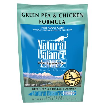 Natural Balance L.I.D. Limited Ingredient Diets® Green Pea & Chicken Dry Cat Formula