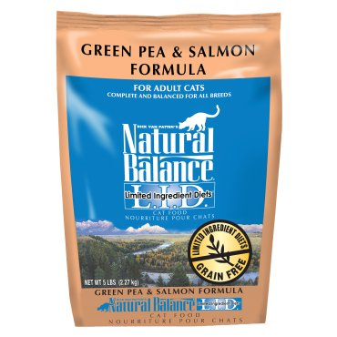 Natural Balance L.I.D. Limited Ingredient Diets® Green Pea & Salmon Dry Cat Formula