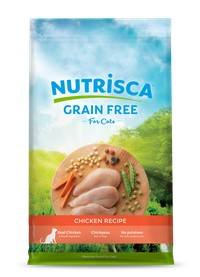 Nutrisca Cat Grain Free Chicken Recipe