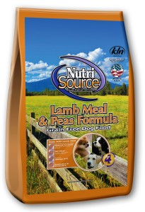 Nutrisource Nutrisource Lamb Meal & Peas Grain Free