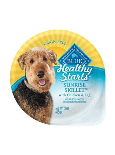 Blue Buffalo Blue Buffalo Healthy Start Skillet Chicken & Egg Dog 3Oz. Case of 12