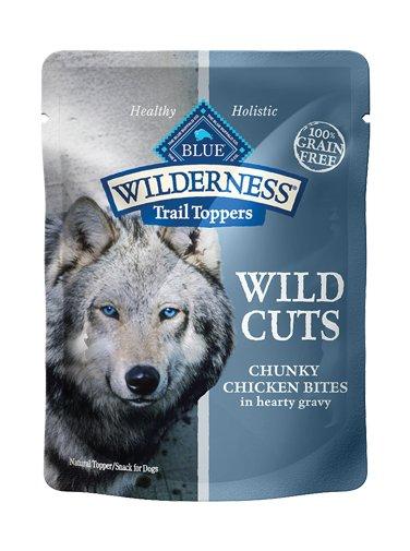 Blue Buffalo Blue Buffalo Grain Free Wilderness Top Chicken Gravy  Dog 3Oz. Case of 24