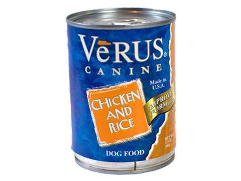 Verus Verus Chicken & Rice Canned Dog 13Oz. Case of 12