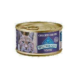Blue Buffalo Blue Buffalo Cat Wilderness Grain Free Chicken Recipe 3Oz. Case of 24