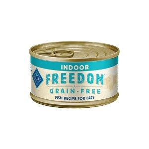 Blue Buffalo Blue Buffalo Cat Freedom Grain Free Indoor Fish 5.5Oz. Case of 24