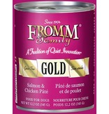 Fromm Fromm Grain Free Salmon & Chicken Pate Canned Dog 12.2Oz. Case of 12