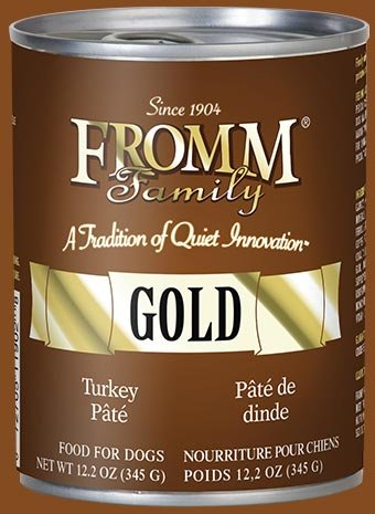 Fromm Fromm Gold Turkey Pate Canned Dog 12.2Oz. Case of 12