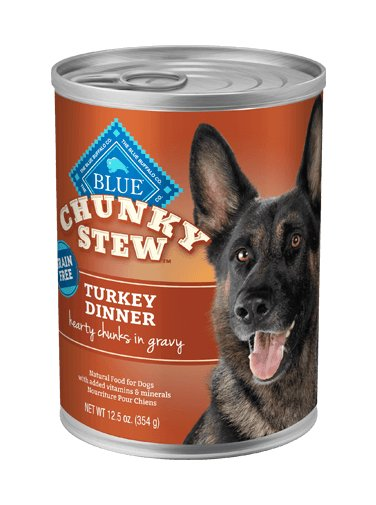 Blue Buffalo Blue Buffalo Turkey Chunk Stew Canned Dog 12.5Oz. Case of 12
