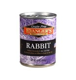 Evangers Evangers Grain Free Rabbit Canned Dog 13Oz. Case of 12