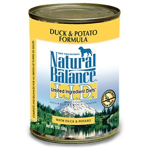 Natural Balance Natural Balance Duck & Potato Canned Dog 13.2Oz. Case of 12