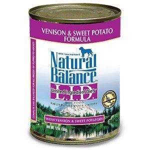 Natural Balance Natural Balance Venison & Sweet Potato Canned Dog 13Oz. Case of 12