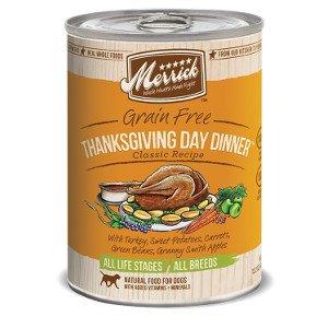 Merrick Merrick Thanksgiving Day Dinner Canned Dog 13.2Oz. Case of 12