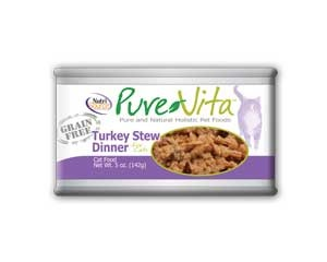 Nutrisource Nutrisource Pure Vita Cat Turkey Stew 5Oz. Case of 12