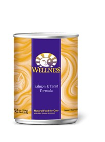 Wellness Wellness Feline Salmon & Trout 5.5Oz. Case of 24