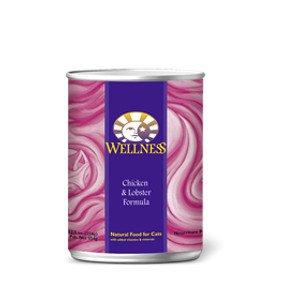 Wellness Wellness Feline Chicken & Lobster 5.5 Oz. Case of 24