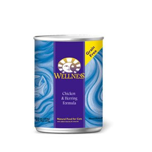Wellness Wellness Feline Chicken & Herring 5.5Oz. Case of 24