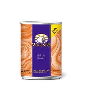 Wellness Wellness Feline Chicken Formula 3Oz. Case of 24