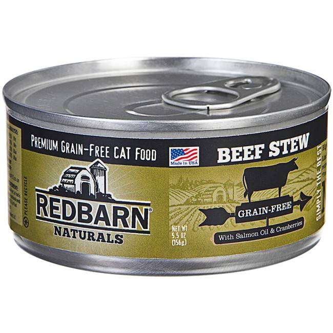 RedBarn Red Barn Cat Urinary Support Beef 5.5Oz. Case of 24