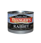 Evangers Evangers Cat Grain Free Rabbit 6Oz. Case of 24