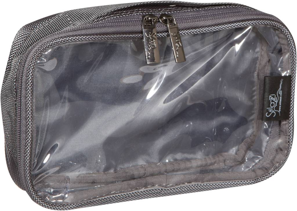 Cosmetic Pouch Small Grey