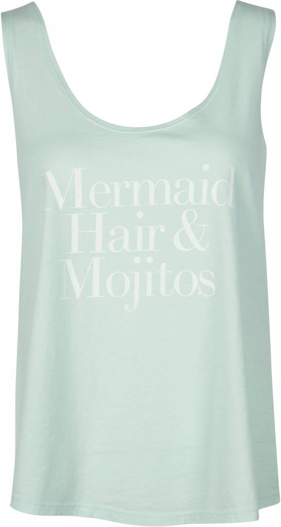 Mermaid Hair & Mojitos Tank Mint