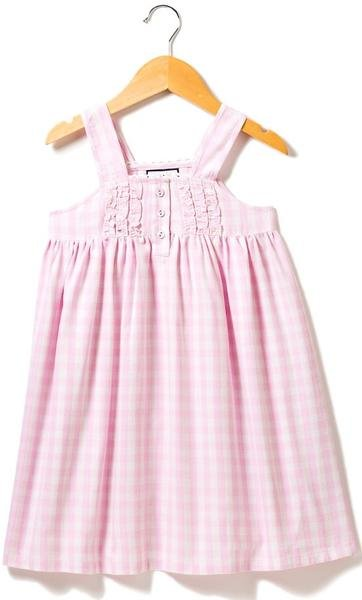 Pink Gingham Charlotte Gown