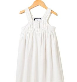 White Charlotte Nightgown