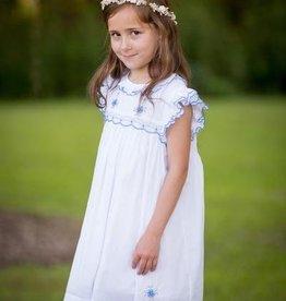 Dixie White/Blue Dress