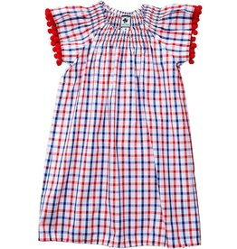 Hadley Red Check Dress
