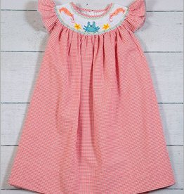 Crab Smocked Dress