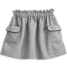 Grey Dot Sheffield Skirt