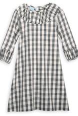 Grey Check Brooke Dress