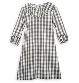 Grey Check Brooke Dress