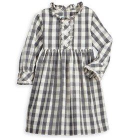 Grey Check Harlowe Dress