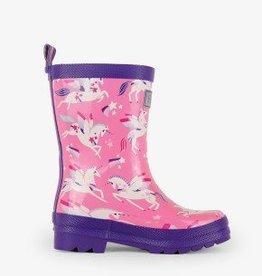 Rainbow Unicorns Rain Boots