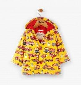 Baby Fire Trucks Raincoat