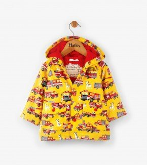 Baby Fire Trucks Raincoat