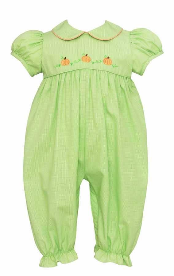 Girls Pumpkin Bubble Green