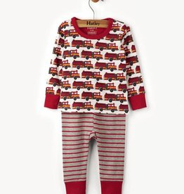 Fire Trucks Baby Pjs