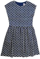 Navy Circle Lee Dress