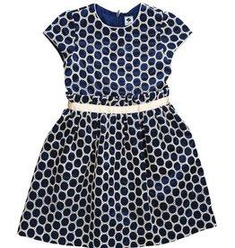 Navy Florence Dress