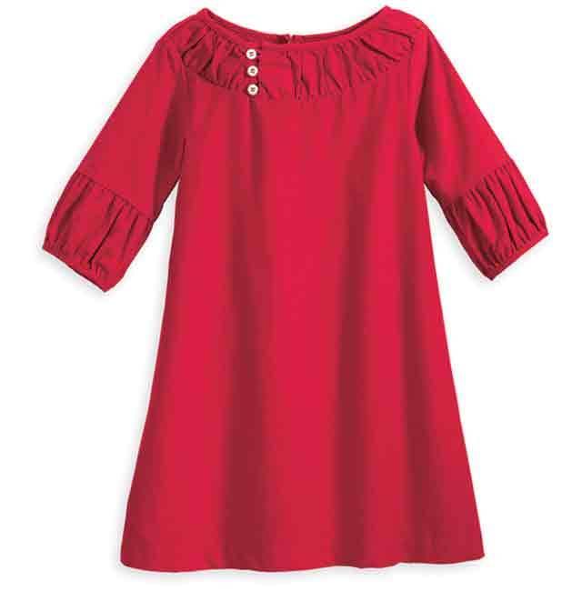 Brooke Red Cord Dress