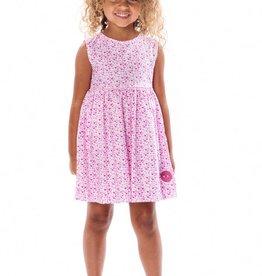 Smiling Button Heartbreaker Pinny Dress