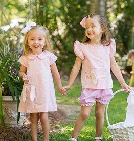 Lullaby Set Pink Bunny Dress