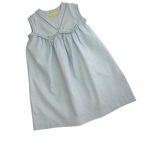 Pixie Lily Blue Pique Dress